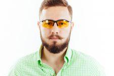 Водительские очки S01BM yellow