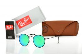 Солнцезащитные очки, Ray Ban Round Metal 3447green-b