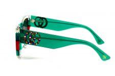 Женские очки Gucci 3876-green-red